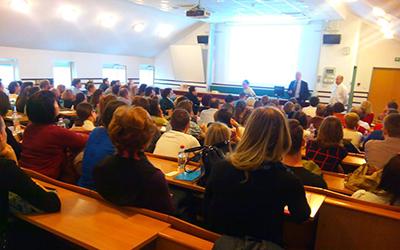 Világklasszis teljesítmény (Dr. Harald Harung, norvég egyetemi tanár, 2016 SOTE)